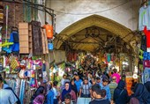 فیلم تسنیم از بازار تهران/ مغازهها باز و معاملات در جریان است