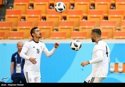 ایرانی فٹبال ٹیم کی اپنی تاریخ میں اہم ترین میچ کیلئے پریکٹس