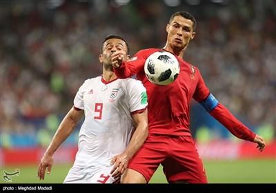پوشش زنده؛ ایران صفر - پرتغال یک؛ تا دقیقه ۶۵/ بیرانوند پنالتی رونالدو را گرفت/ اسپانیا یک - مراکش یک