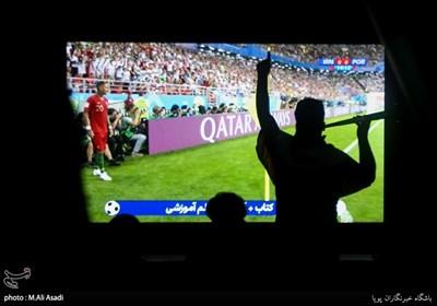 تماشای بازی تیم های فوتبال ایران - پرتغال
