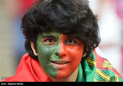 Fans in Russian Saransk Stadium Watch Iran-Portugal World Cup Match