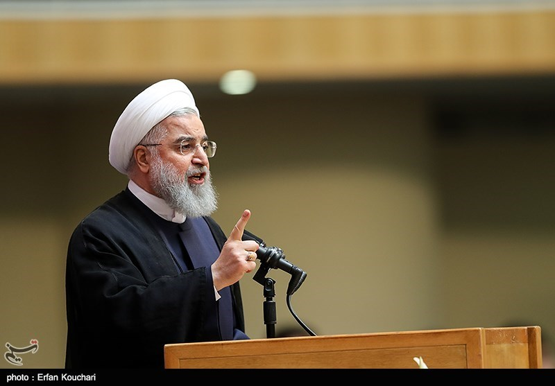 Americans Ashamed of Their Government: President Rouhani