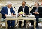 لاریجانی:مسئولان کشورهای همسایه باید به یکدیگر خوشبین باشند