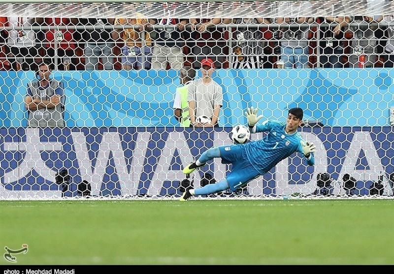 Iran Goalkeeper Beiranvand Happy to Save Ronaldo' Penalty