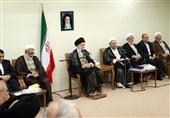 رئیس و مسئولان دستگاه قضایی با امامخامنهای دیدار کردند