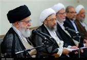 قائد الثورة الاسلامیة یؤکد ضرورة معاقبة المفسدین الاقتصادیین بشکل سریع وعادل