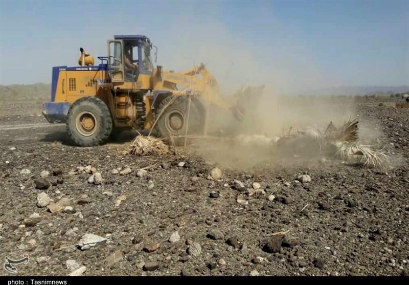 100هکتار از اراضی ملی کوهدشت رفع تصرف شد