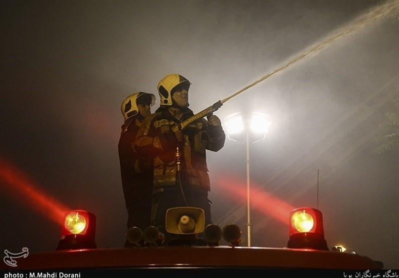 آتشسوزی نیروگاه شهید مدحج اهواز کنترل شد