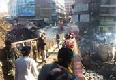 بازار روز چالوس طعمه حریق شد؛ خسارت آتش به 10 مغازه