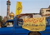 گروههای مردمی و جهادی به یاری مردم خرمشهر و آبادان شتافتند