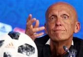 فوتبال جهان  مخالفت پیرلوئیجی کولینا با درخواست بازبینی ویدئویی از سوی سرمربیان