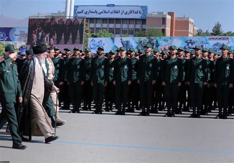 حضور فرمانده کل قوا در دانشگاه افسری امام حسین(ع) سپاه