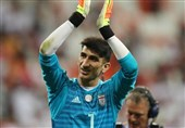 Iran's Beiranvand in World Cup 2018 Best Team So Far
