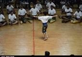 جشن بزرگ ورزش زورخانهای کرمان به روایت تصویر