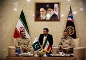 رئیس ستاد ارتش پاکستان با سرلشکر موسوی دیدار کرد