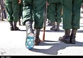 واکنش مجازی کاربران کشورهای مقاومت به حکاکی پرچم اسرائیل زیر پای افسران جوان سپاه+تصاویر