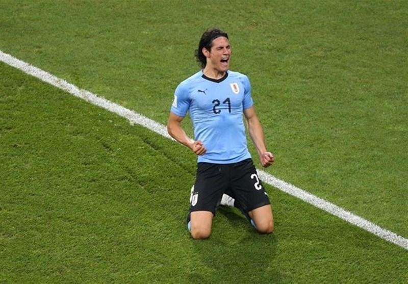 World Cup: Cavani Fires La Celeste Past European Champions