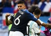 جام جهانی 2018| ادای احترام ویژه پوگبا به لیونل مسی