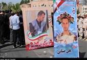 پیکر مطهر مرزبان شهید ضیایی در ارومیه تشییع و به خاک سپرده شد