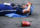 جام جهانی 2018| رونالدو در مینیبوس و مسی نزدیک ماشین پلیس