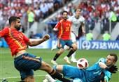جام جهانی 2018  دروازهبان روسیه بهترین بازیکن دیدار با اسپانیا مشخص شد