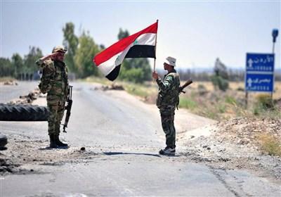 استقرار ارتش سوریه در مقرهای خود در غرب الحسکه/ هلی برن نظامیان آمریکایی در یک روستا