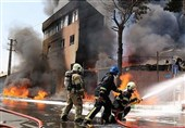افزایش کشتهشدگان حریق کارخانه تولید مواد شیمیایی + فیلم و تصاویر نادیده از لحظه آتشسوزی