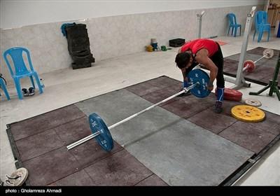 تمرینات ملی پوشان وزنه برداری ایران آغاز شد