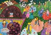 دختر ایرانی مقام اول مسابقه نقاشی کودکان در ژاپن را کسب کرد