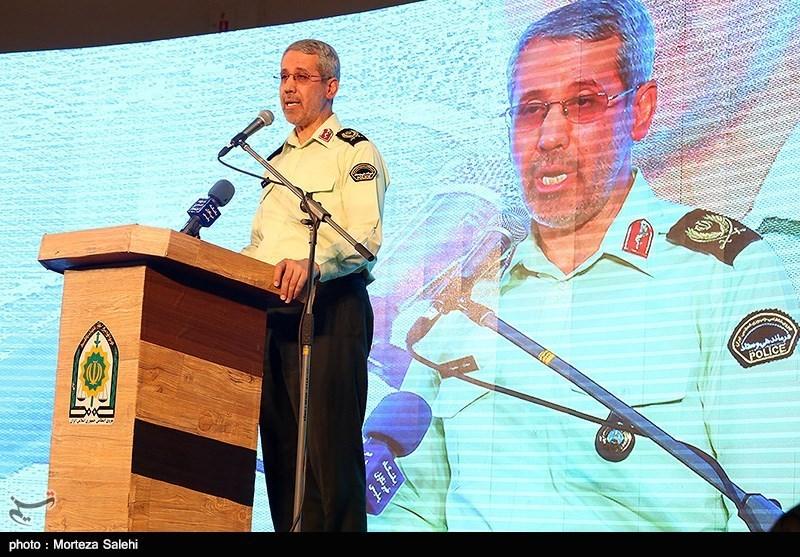 اصفهان| نیروی انتظامی در پیشگیری از جرائم از فناوری روز استفاده میکند