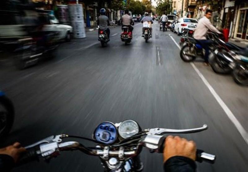 موتورسواری در تهران بیخیال پلیس!