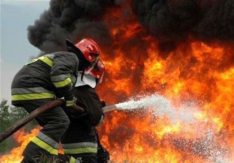 آتش سوزی بازار سنتی کرمانشاه پس از یک ساعت مهار شد