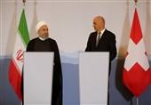 روحانی به رئیس کنفدراسیون سوئیس: رژیم صهیونیستی را نامشروع میدانیم