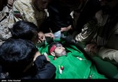 """گزارش ویدئویی تسنیم از مراسم وداع با پیکر شهید مدافع حرم """"محمد ابراهیم رشیدی"""""""