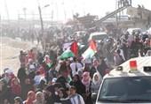 تحولات فلسطین|یک شهید و دهها زخمی در حمله نظامیان صهیونیست به شرکت کنندگان در راهپیمایی بازگشت