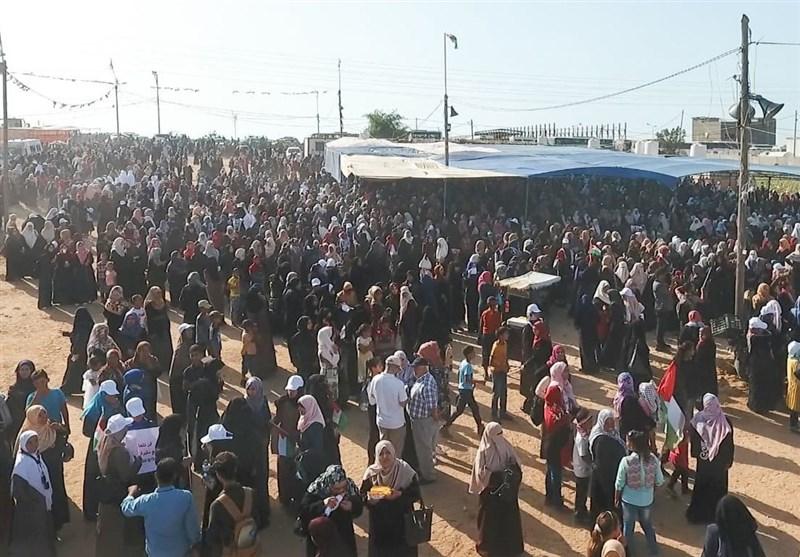 «ملت فلسطین بهزودی به سرزمین اصلی و مادری خود بازخواهند گشت»