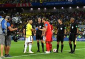 Falcao Slams 'Shameful' Referee for 'Favouring' England against Colombia