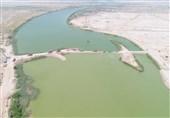 آب شور دیگر به کارون نفوذ نمیکند/ اتمام عملیات احداث بند خاکی بر روی کارون
