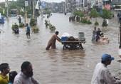 تعداد قربانیان سیل در ایالت سند پاکستان به 80 نفر رسید