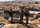 فلسطین|فرمان نژادپرستانه صهیونیستها به مردم روستای «الخان الاحمر» برای تخریب آن
