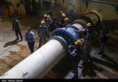 ثبت 2 رکورد کم نظیر مهندسی به عشق مردم خوزستان/کار شبانه روزی در دمای بالای 50 درجه