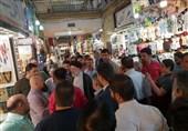 حجتالاسلام رئیسی در جمع کسبه بازار رضای مشهد حضور یافت