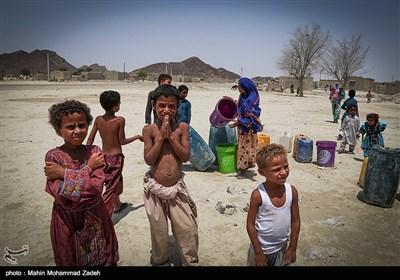 بحران آب درمنطقه دشت یاری - چابهار