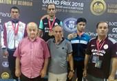 پایان کار کشتیگیران ایران با کسب 2 مدال طلا، 3 نقره و 7 برنز در گرجستان