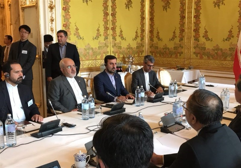 Top Iranian, Chinese Diplomats Discuss JCPOA in Austria