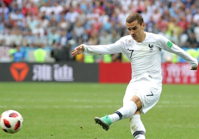 جام جهانی 2018| گریزمان بهترین بازیکن جدال فرانسه - اروگوئه شد