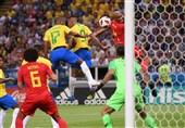 جام جهانی 2018|دیدار برزیل و بلژیک به روایت تصویر