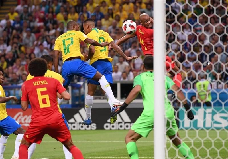 جام جهانی 2018 دیدار برزیل و بلژیک به روایت تصویر
