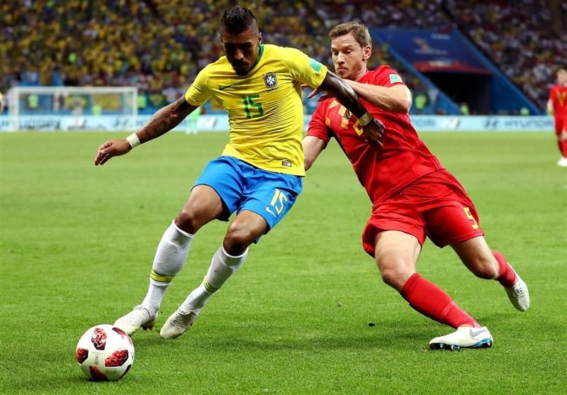 جام جهانی 2018|پائولینیو: شکست مقابل بلژیک سختتر از باخت «7-یک» به آلمان بود