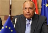 گفتوگوی وزیران خارجه امارات و مصر درباره سوریه و لیبی